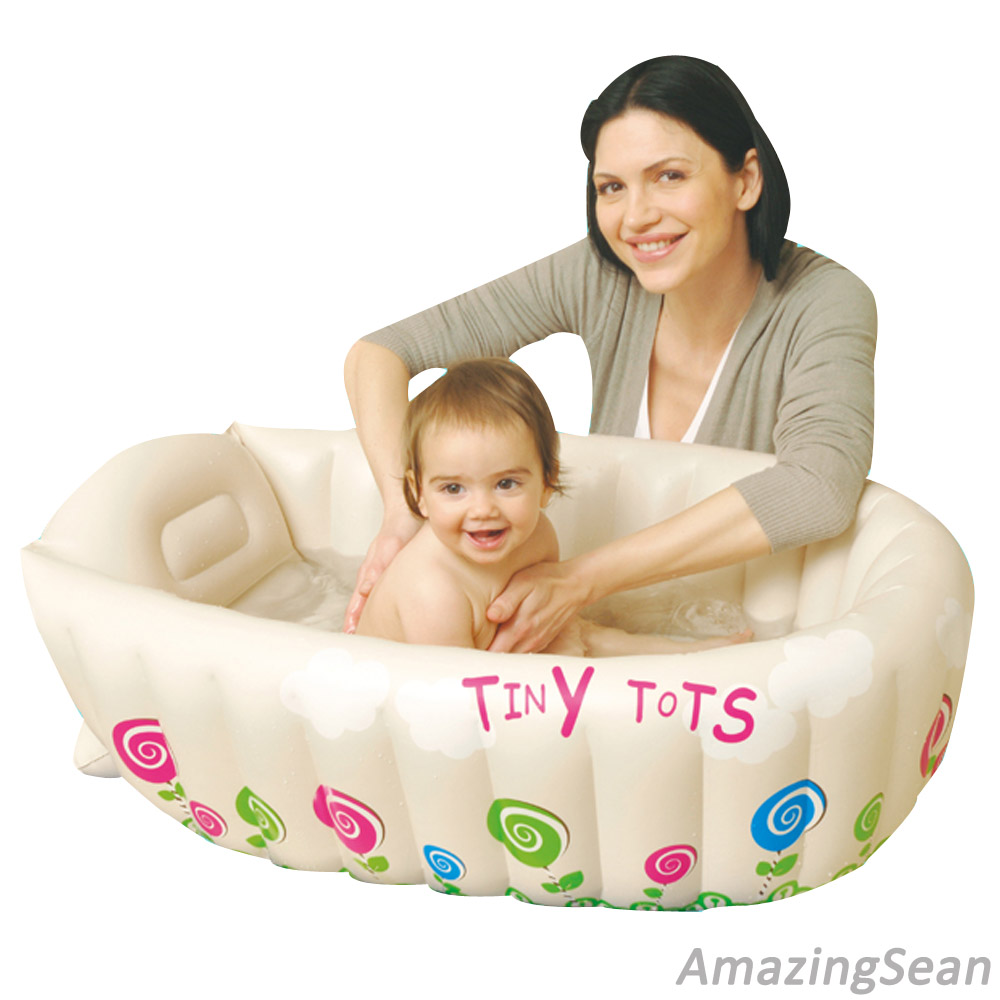 Safety Inflatable Baby Bath Tub